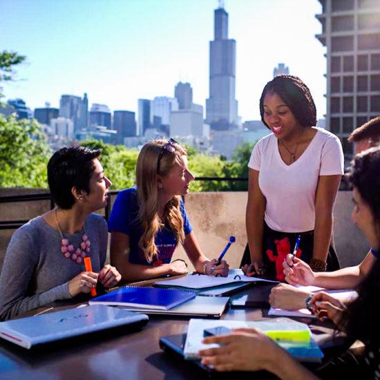 UIC & Chicago's Skyline