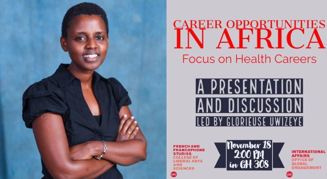 Career opportunities in Africa poster
