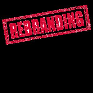 rebranding stamp
